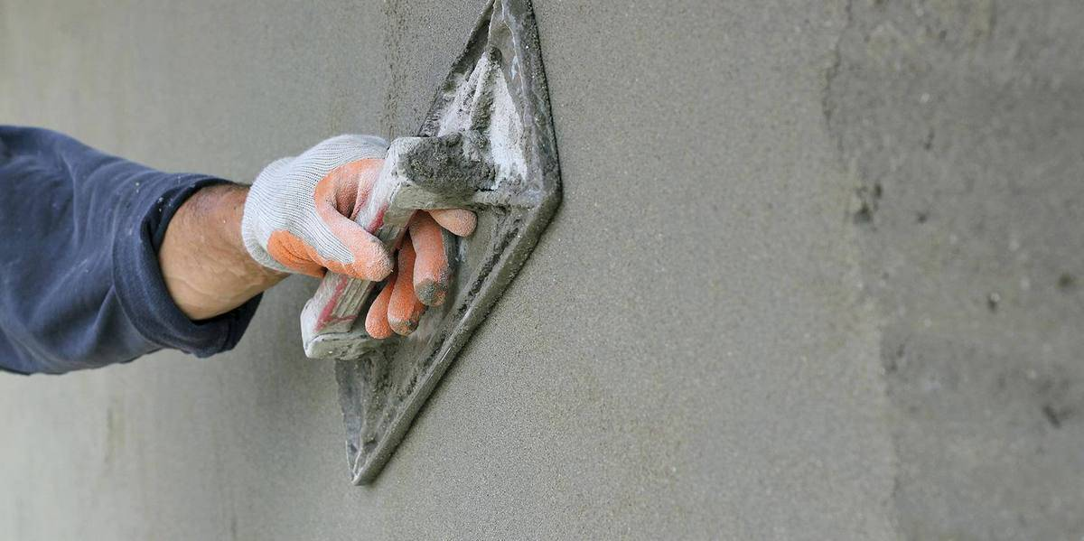 Цементная штукатурка: состав для внутренних и наружных работ