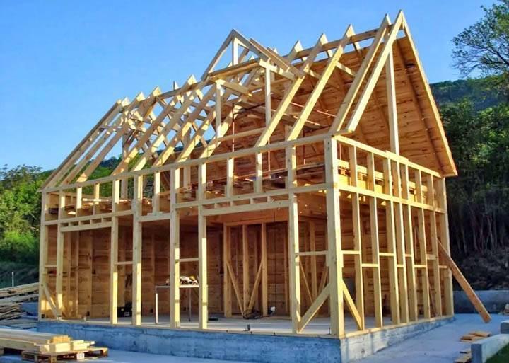 Каркасные дома недорого и сколько стоит построить своими руками