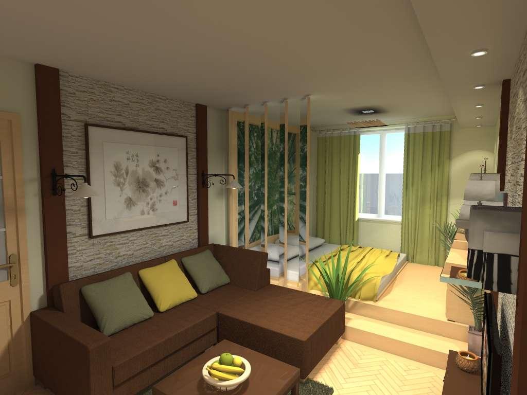 Зонирование комнаты шторами: плюсы и минусы, виды, современные идеи разделения на две зоны