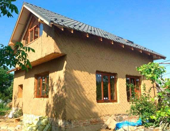Глиночурка — технология строительства дома из дров и глины строительство и ремонт стен