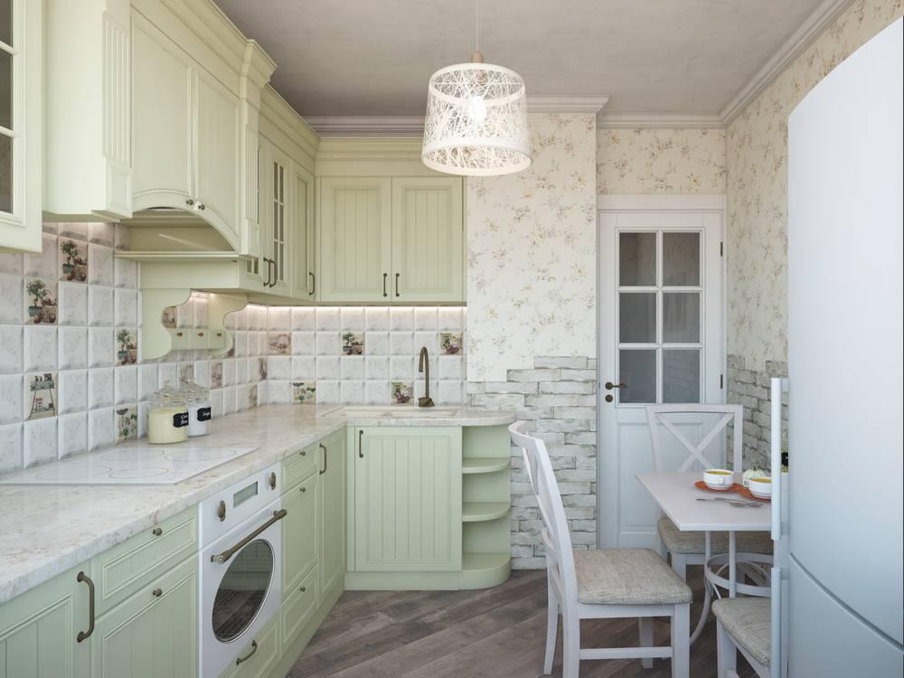 Дизайн кухни-гостиной 20 квадратных метров
