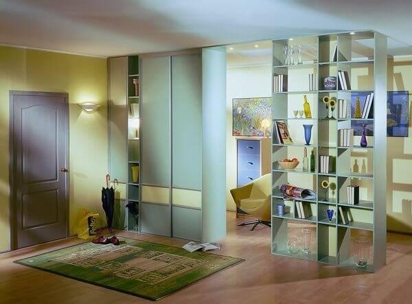 70 идей зонирования однокомнатной квартиры - фото, способы и дизайн
