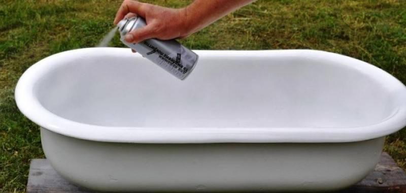 Покраска ванны: какой краской  и как можно покрасить своими руками