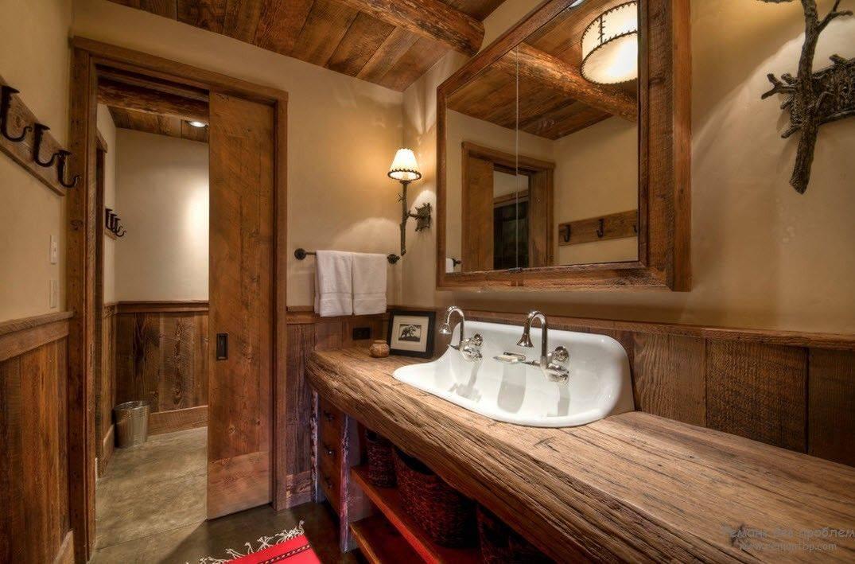 Вагонка в интерьере ванной комнаты с фото, как обшить своими руками
