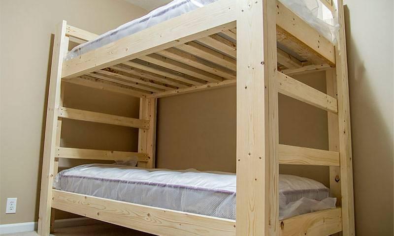 Описание и выбор двухъярусных детский кроватей