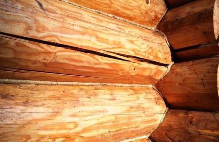 Формирование теплых швов при утеплении деревянного дома