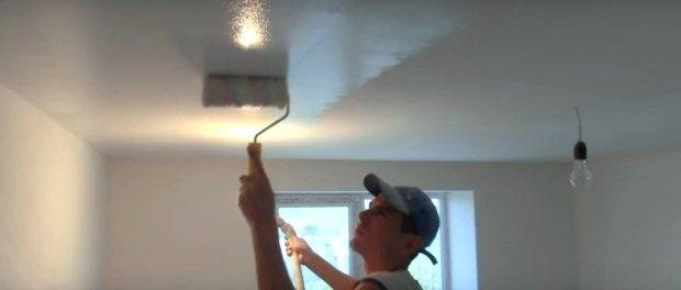 Какую краску выбрать для потолка: какая потолочная краска лучше