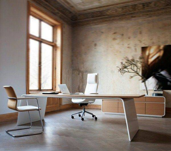 Дизайн интерьера офиса в разных стилях - 75 фото, дизайн проекты