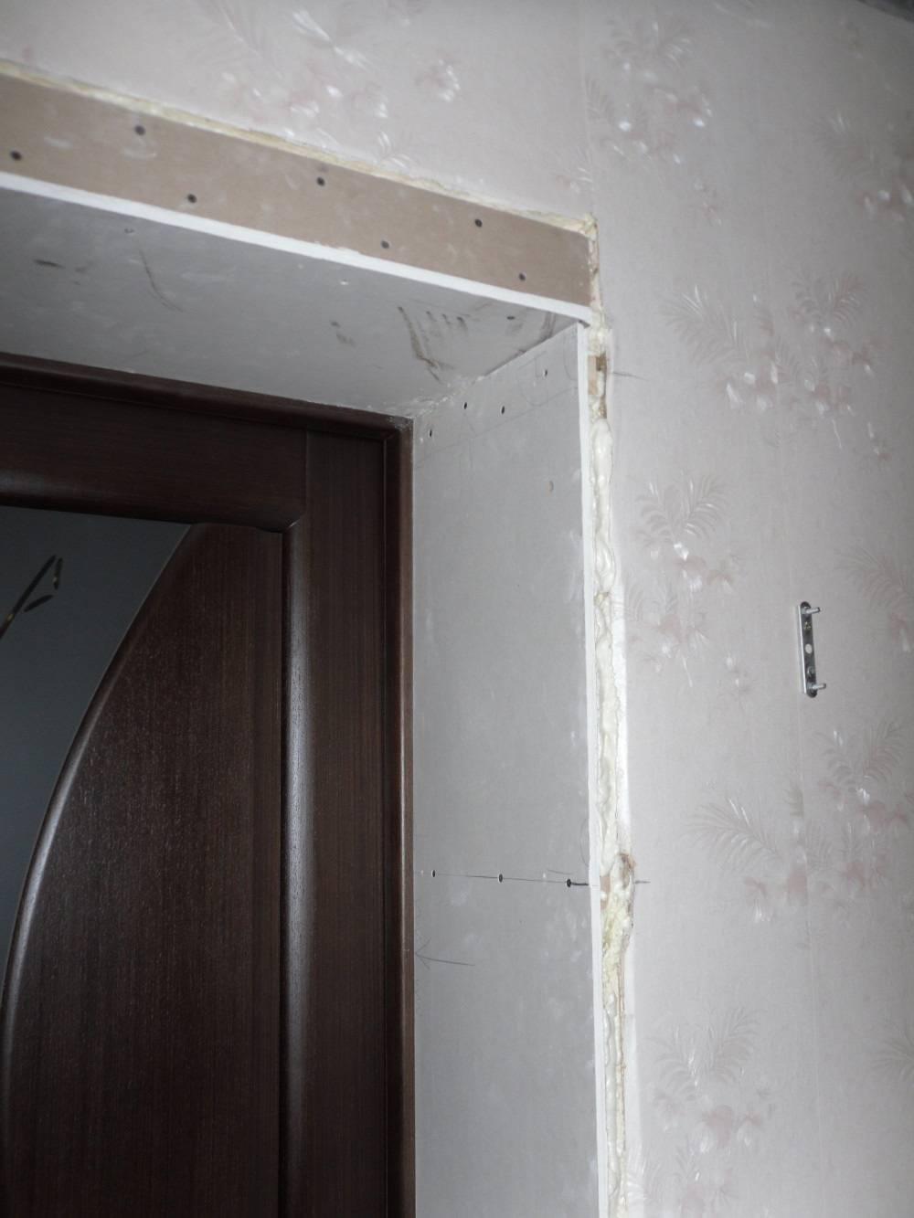 Оконные откосы из гипсокартона своими руками | o-builder.ru