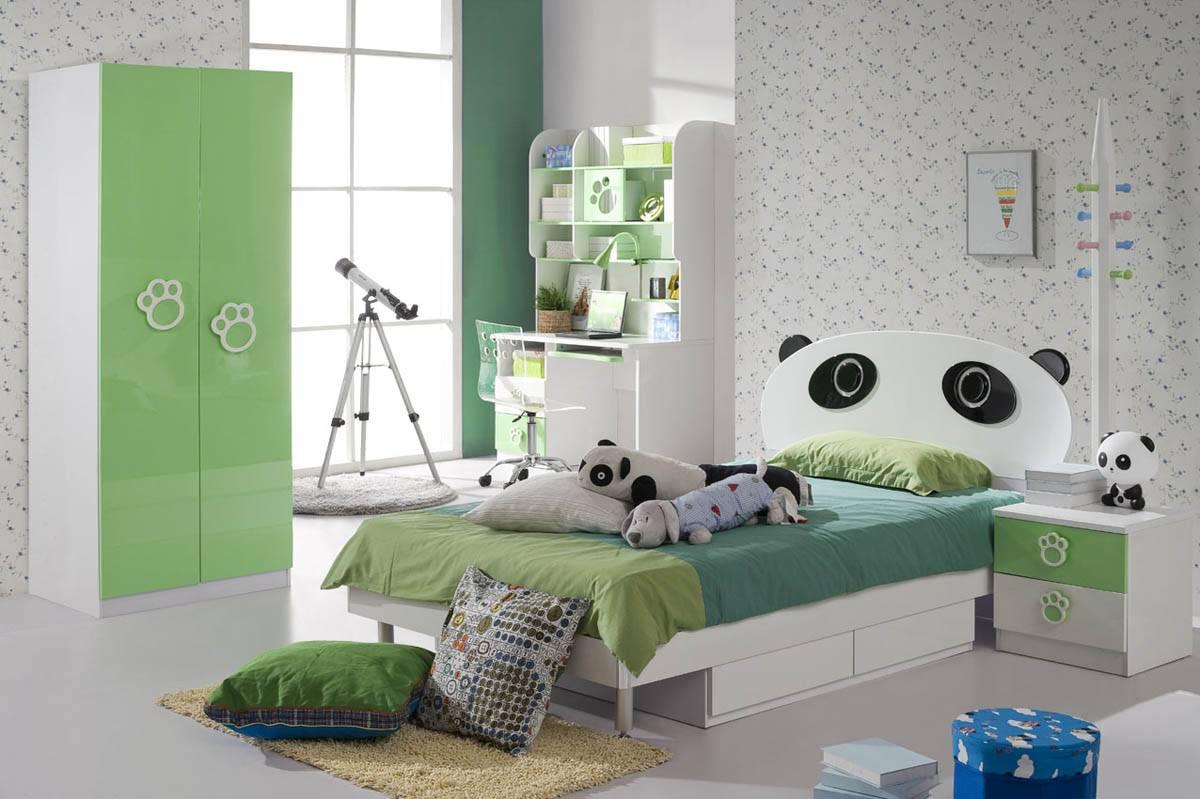 Фото детской спальни – дизайн интерьера спальной комнаты для детей