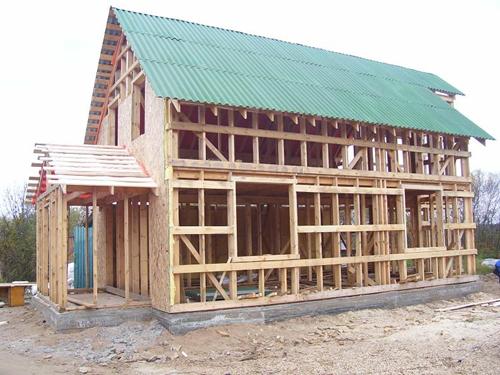 Каркасный дом: преимущества и недостатки