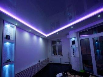 Как делают световые линии - секреты и ошибки при монтаже в натяжном потолке