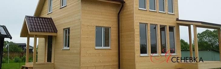 Каркасный дом обложенный кирпичом: особенности и преимущества