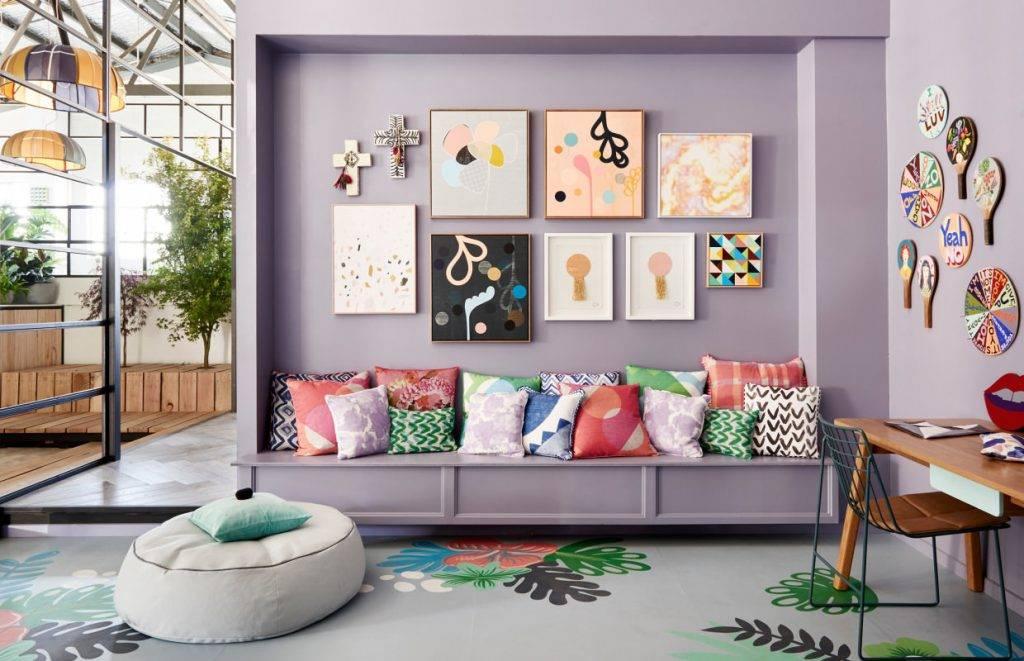 Шторы в интерьере - сочетание цветов, правила подбора, фото идеи