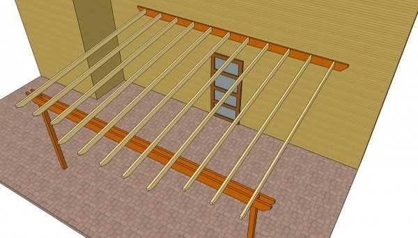 Как сделать деревянную перголу своими руками: разбор этапов постройки