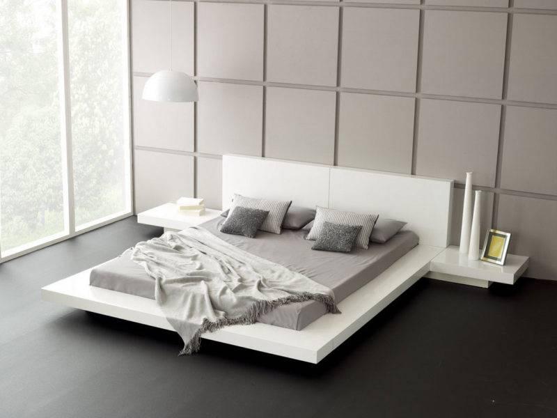 Роскошная простота и функциональность: 87 фото-идей дизайна спальни в стиле минимализм