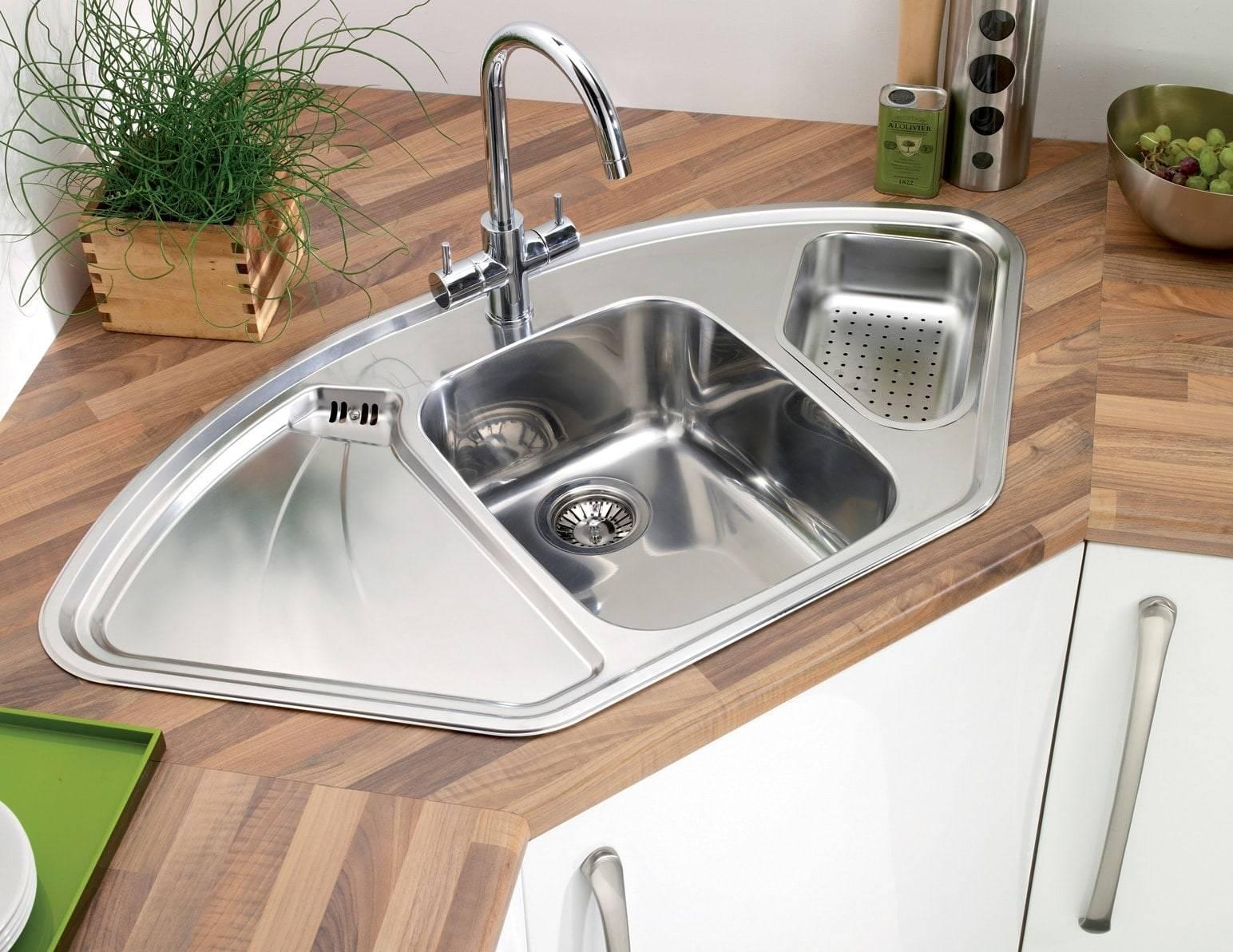 Угловая тумба под мойку для кухни (37 фото): размеры напольных угловых кухонных шкафов, выбор углового модуля под раковину