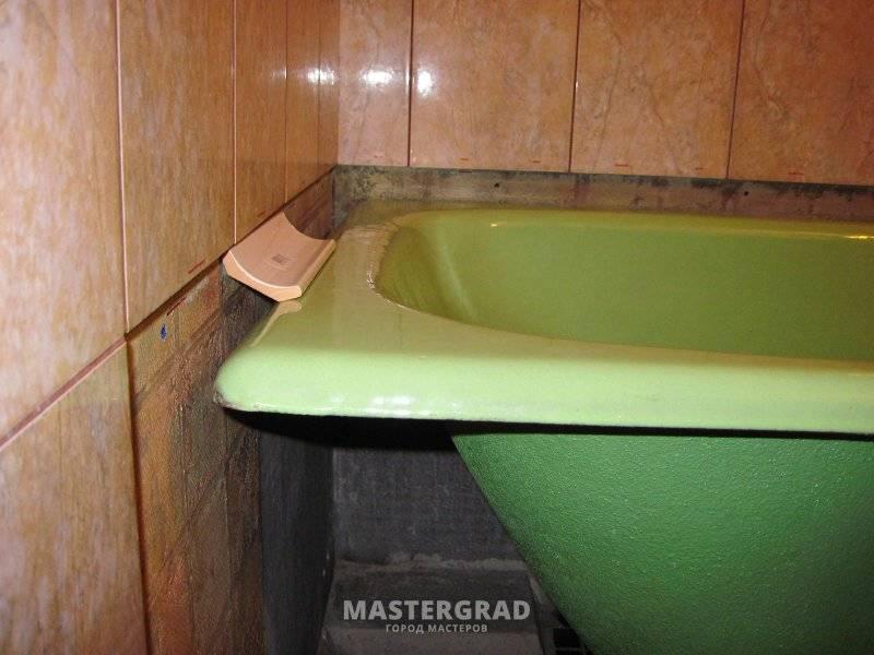 Чем заделать стык между ванной и плиткой