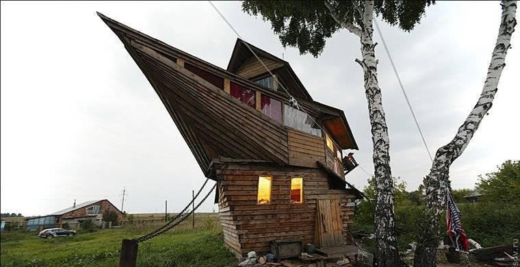 Самые необычные дома на планете. оригинальные дома.