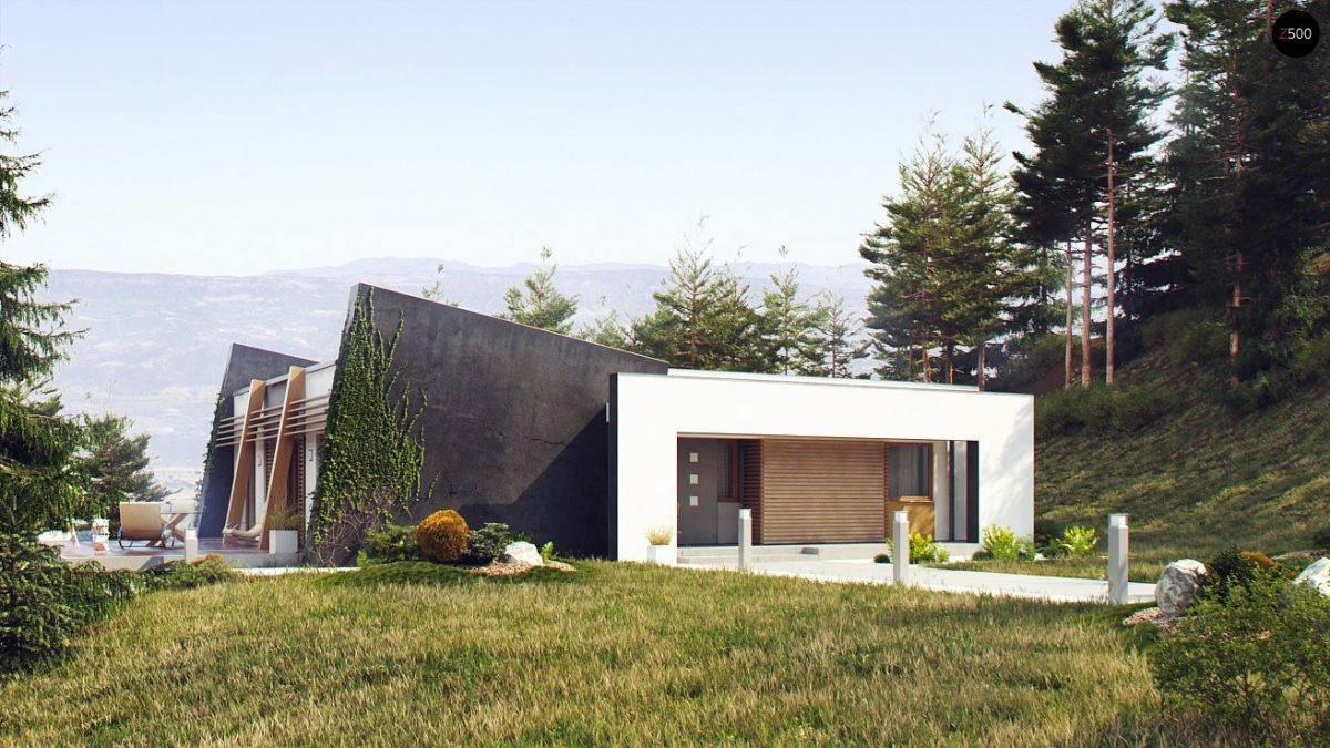 Проекты домов с плоской крышей: обзор вариантов с фото