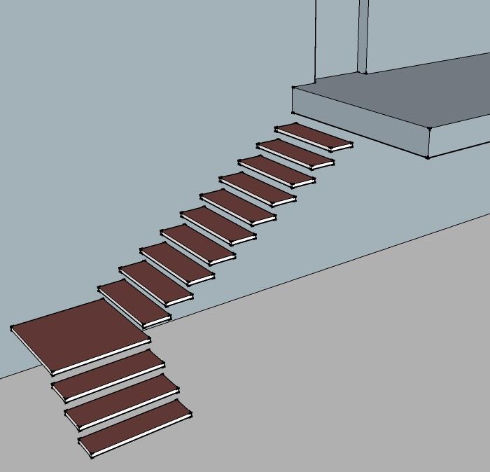 Лестницы на второй этаж на металлическом каркасе - всё о лестницах
