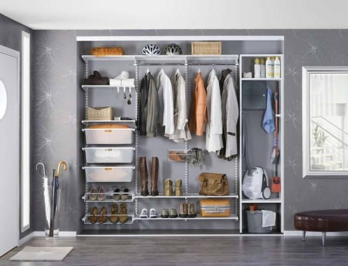 Наполнение для шкафов-купе и гардеробных: фото внутри и советы