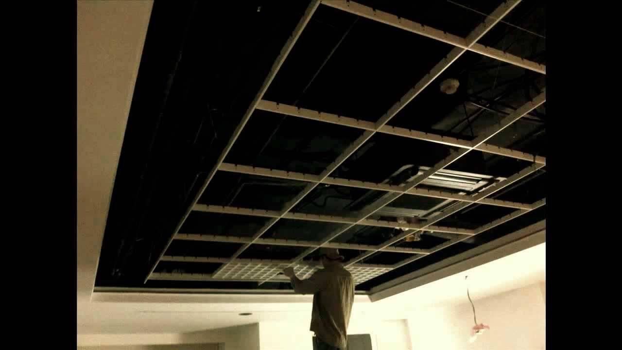 Потолок грильято: особенности установки панелей, светильников и прокладка коммуникаций (90 фото)