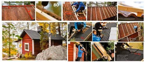 Как легко покрыть крышу ондулином своими руками?