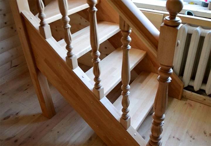 Как самостоятельно устанавливать балясины на лестницу? - блог о строительстве