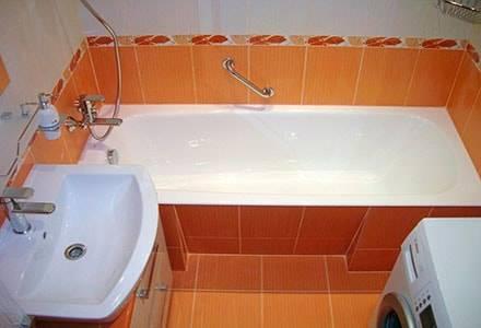 Ремонт ванной комнаты и туалета под ключ