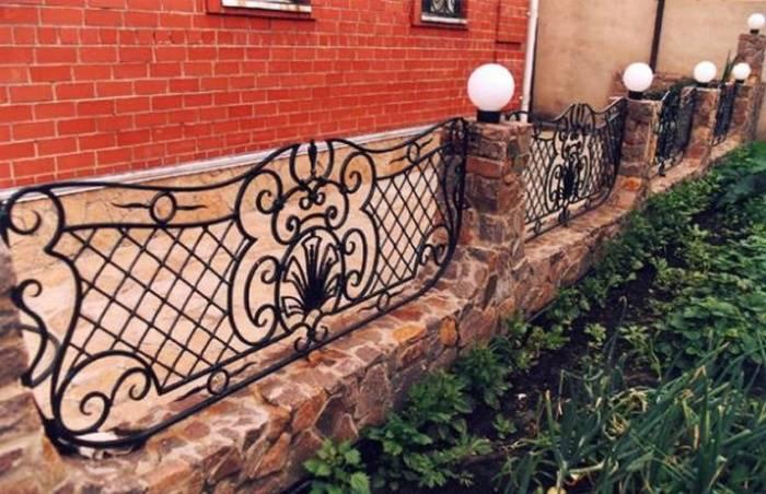 Ограждение палисадников: виды, материалы, популярные варианты | сад и огород