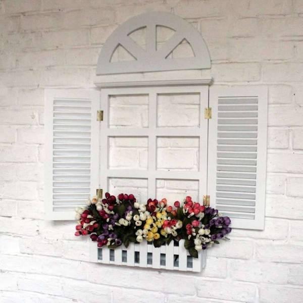 Фальш окно, декоративное, имитация окна: с подсветкой, своими руками