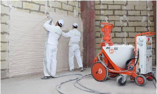 Механизированная штукатурка стен: сокращаем время на ремонтные работы