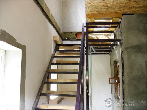 Лестница из профильной трубы: как сварить своими руками, чертежи, расчет лестницы на второй этаж, сварка приставной лестницы из квадратной профтрубы