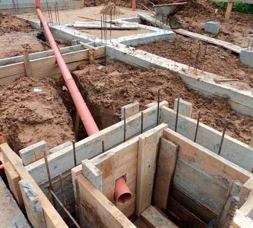 Фундамент из асбестоцементных труб своими руками - как сделать столбчатый фундамент из асбестоцементных труб | стройсоветы