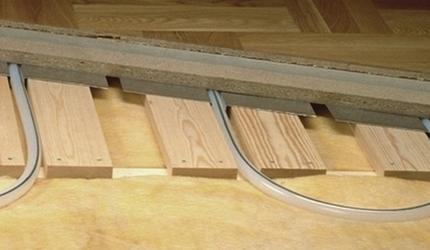 Укладка теплого пода под ламинат в деревянном доме - инструкция
