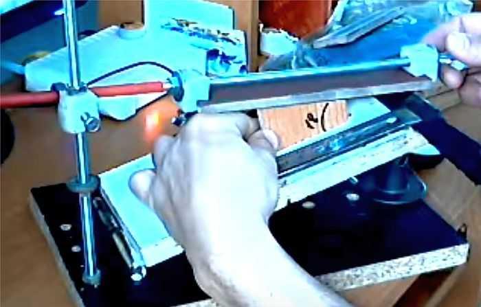 Приспособления для заточки ножей – виды и правила использования