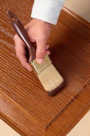 Как использовать белую морилку для дерева