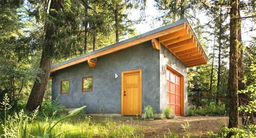 Односкатная крыша для бани своими руками: положительные и отрицательные стороны