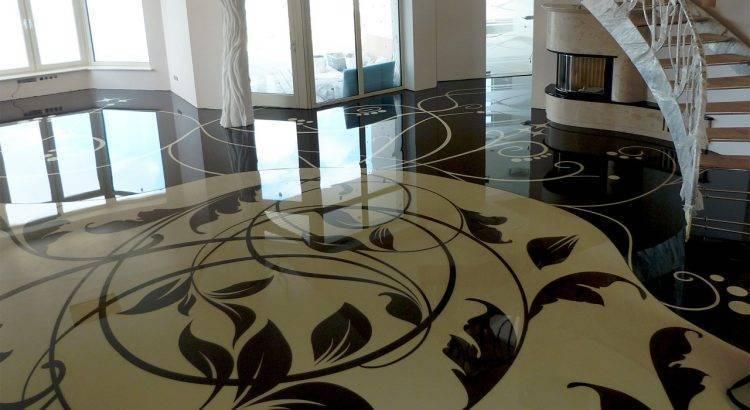 Как отремонтировать бетонный пол в квартире