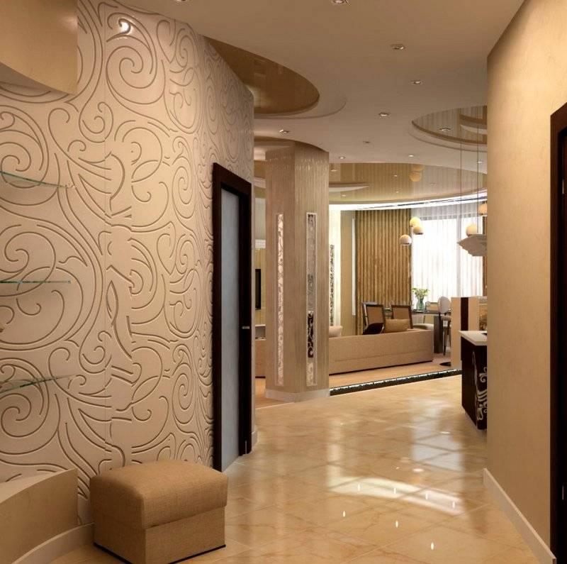 Обои для прихожей и коридора: более 75 фото-идей интерьера