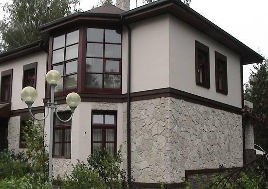 Фасадная декоративная штукатурка (49 фото): состав «короед» для наружных работ в частных домах, отделка фасада снаружи