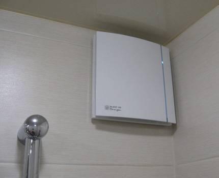 Бесшумный вентилятор в ванную комнату: виды, выбор, монтаж