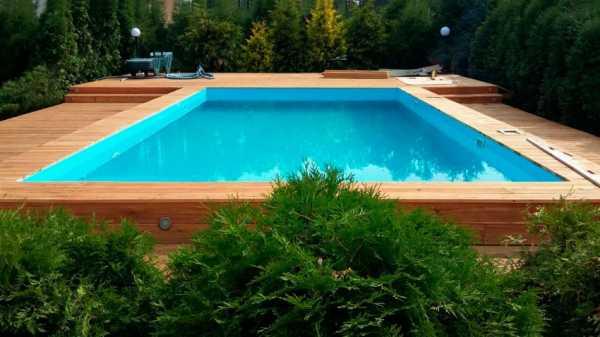 Как сделать бассейн на даче своими руками  из подручных материалов недорого, быстро и просто