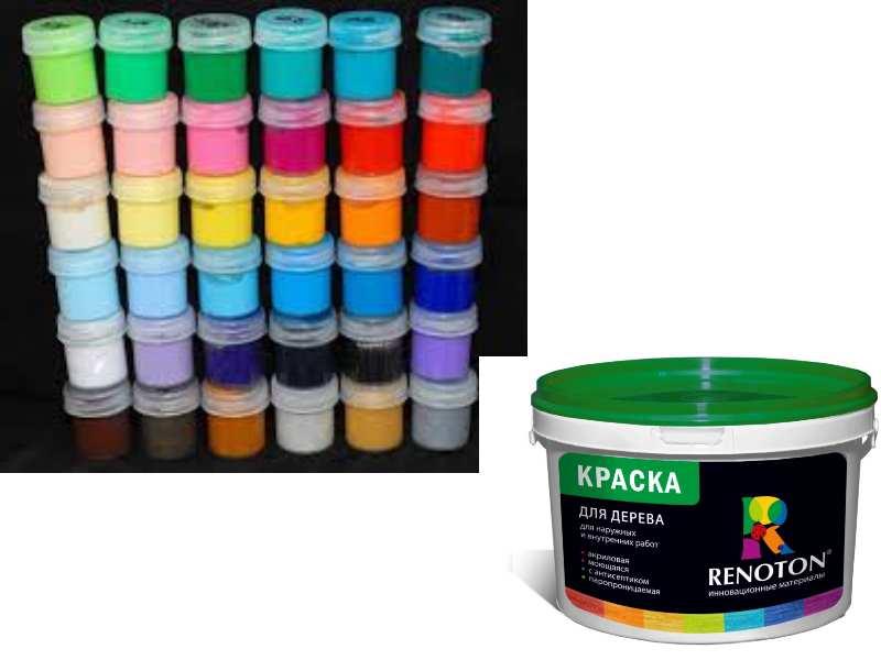 Акриловая краска на водной основе – свойства, расход