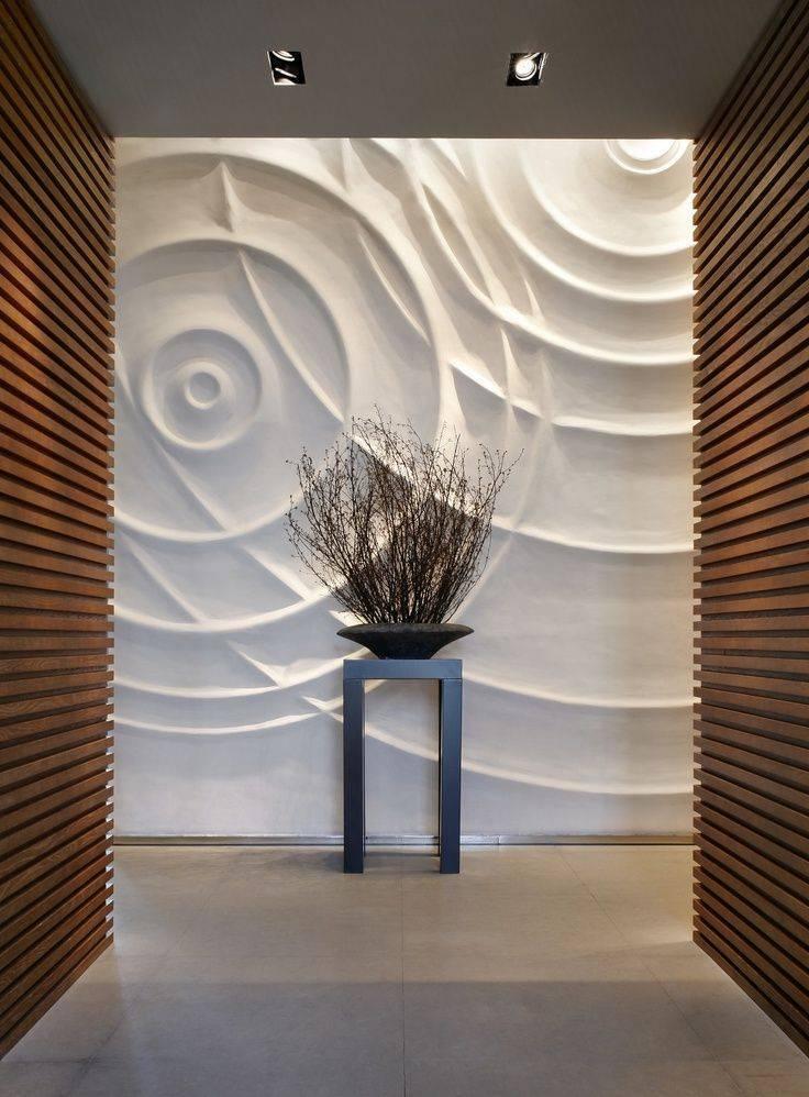 3d панели: фото применения уникального дизайна для стен и потолков