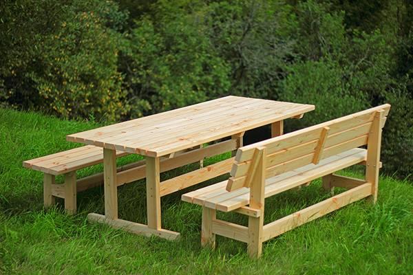 Мебель для беседки, какой бывает по назначению и материалу изготовления