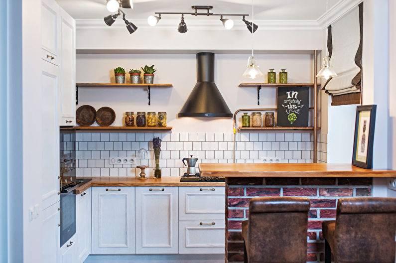 Как задействовать окна в дизайне кухни