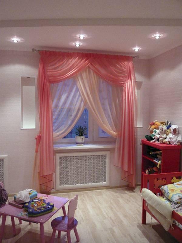 Шторы в детскую комнату своими руками: фото выкройки и видео инструкция | топ 100 фото новинок