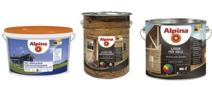 Фасадные краски по дереву - обзор современных производителей и технология окрашивания
